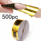 Nail Art Tips Extension Tool Adhesive Nail Form for Acrylic/UV Gel Manicure