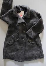 NEUF * Manteau long en lainage gris LILI GAUFRETTE 6 ans