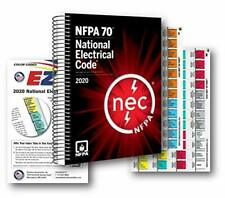 Nfpa National Electrical Code (Nec) Spiralbound-Coded Ez Tabs Formula Guide 2020