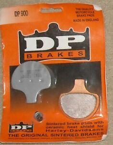 1 pair DP Brakes DP900 Standard Sintered Metal Brake Pads Harley-Davidson 84-06