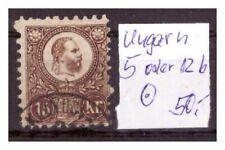 Ungarn, 5 oder 12 b, gestempelt