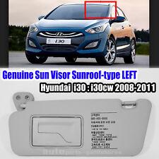852012L520TX Sun Visor Sunroof-type LH Gray HYUNDAI i30 i30CW 2008-2011
