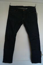 Herren Jeans (1), dunkelblau, Gr. 36/34, Slim Low Waist, H&M neuwertig!