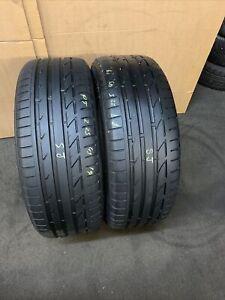 225 45 R 19 92W XL Bridgestoen Potenza S001 * RSC Run Flat RFT 2x Tyres 2254519