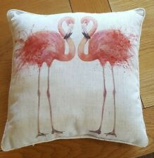 Flamingo Cushion complete with insert