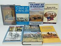 7 Book Lot - Mounted CAVALRY operations in the Civil War Confederate Union