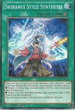 YU-GI-OH CARD: SHIRANUI STYLE SYNTHESIS - MP16-EN220 1ST EDITION