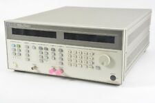 Hp Agilent Keysight 8625a 300 Khz 3 Ghz Synthesized Rf Sweeper Opt 1e4 50 Ohm Rf