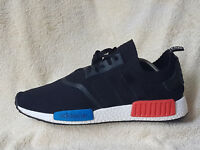 Adidas NMD R1 Boost OG Primeknit mens trainers Black/White UK 10.5 EU 45.5