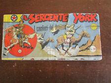 IL SERGENTE YORK STRISCIA 3° SERIE N.1 I CAVALIERI DEL DEMONIO AUDACE 1954