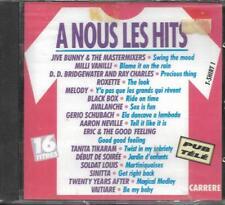 CD 16T ROXETTE/BLACK BOX/DÉBUT DE SOIRÉE/AVALANCHE/TANITA TIKARAM/JIVE BUNNY NEW