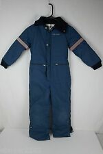 Vintage Polaris Snowsuit Snowmobile Suit - Childs BoysYouth Size 8 - One Piece