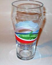 """Vancouver 2010 Olympics Coca Cola Glass Scenery 15cm/6"""" 473ml/16oz"""