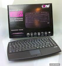 IONE Scorpius R30 Kabellose 2.4GHz Multimedia HTPC Tastatur Wireless, USB, DE