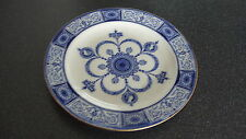 C4 Porcelain Wedgwood Victorian Blue Side Plate 17cm 3D2B