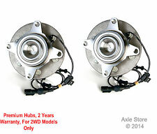 Pair: 2 New DTA Front Wheel Hub Bearing Assemblies Left & Right Lincoln Ford