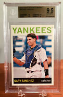 2013 Topps Heritage Minors Gary Sanchez Pre Rookie BGS 9.5 w/ 10 Subs GEM MINT