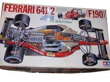 TAMIYA Ferrari 641/2 F1 1:12, PLUS TABAK DECALS Modellbausatz NEU OVP TOP RARE!