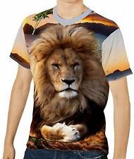 Löwe Herren T-Shirt Tee Gr. S M L XL 2XL 3XL aao40043
