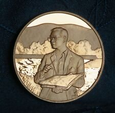 King Bhumibol Adulyadej 72nd Birthday 1999 Thailand Proof Medal Coin Rama 9 IX
