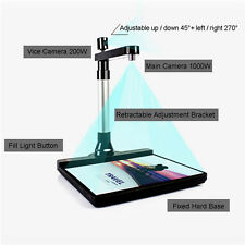 High-Speed A3 A4 A5 Document Photo Book ID Video Cam Scanner Visualizer