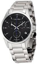 Calvin Klein K5A27141 BOLD Chronograph Mens Swiss Made Watch