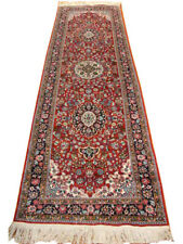 2 ft 6 in x 8 ft Rug 30 x 96 in Scarlet Vivid Red Fine Genuine Hand-knotted Rug