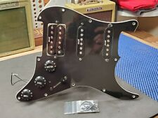 Mighty Mite Black HSS LOADED PICKGUARD for Fender Strat Electric Guitar