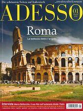 ADESSO,  Heft Januar 01/2013: Roma - Italienisch-Magazin +++ wie neu +++