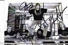TESLA BAND signed autographed photo card promo PSA DNA COA SIMPLICITY AUTO 80's