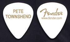 The Who Pete Townshend White Fender Guitar Pick #2 - 2019 Moving On! Tour