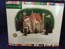 """Dept 56 Christmas In The City Series """"The Consulate"""" Nib"""