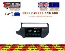 "9"" GPS NAVI CARPLAY ANDROID AUTO 8.0 BT DAB 8CORE WIFI KIA RIO 2012-15 DHS2592"