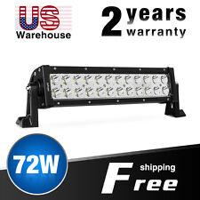 """Nilight LED Light Bar 72W 13.5"""" Spot Work Fog Driving Light Off Road for ATV 4WD"""