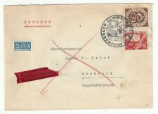 1953 Munich Germany, Express to Mannheim Octoberfest #682, #700, #RA4