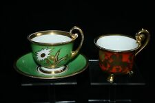 Thomas Bavaria Porzellan Art Deco 2x cup and saucer - Sammeltasse