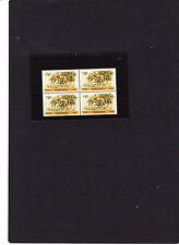 """Tansania 4er Block  Mi. Nr. 168  """" Giraffen  """"   gestempelt, siehe Scan  (294)"""
