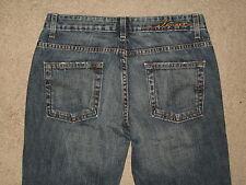 Element Denim Size 3 Slight Flare Dark Blue Denim Womens Jeans