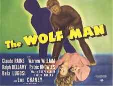 THE WOLF MAN (DVD) HORROR 1941 Lon Chaney, Jr.
