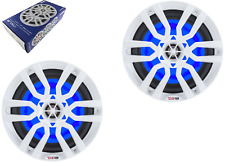 "DS18 NXL8 Marine 8""Speakers with LED Lights MANY COLORS FREE SHIPPING"
