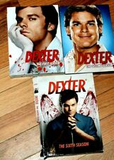 DEXTER Seasons 1, 4,6 Lot of 3 DVD set  Excellent 1 brand new