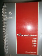 RVI Renault PREMIUM 260 300 340 385 : notice utilisation entretien ne2/3767