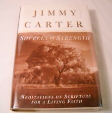 Sources of Strength by Jimmy Carter - SIGNED 1st Edition (B169)