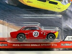 Hot Wheels Car Culture 2020 Door Slammers 2/5 Alfa Romeo Giulia Sprint GTA