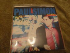 """PAUL SIMON Allergies / Thnk Too Much 7"""" 45 EX"""