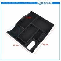 Center Console For Toyota Tundra 14-18 Storage Organizer Tray Box w/Coin Holder