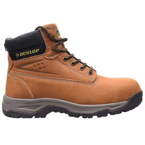 Mens Safety Boots Leather Dunlop On Site New