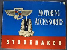 1947 Studebaker Accessories Brochure Commander Champion Nice Original 47