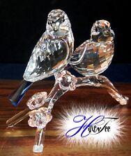 Blue Tits Chickadees Bird Crystal Birds 2014 Swarovski 5004727