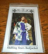 QUILT/SEWING PATTERN SHIFTING STARS BEDJACKET BY THE PATCHWORK COLLECTION